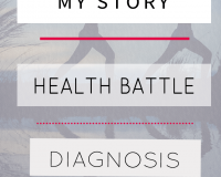 My story, my diagnosis